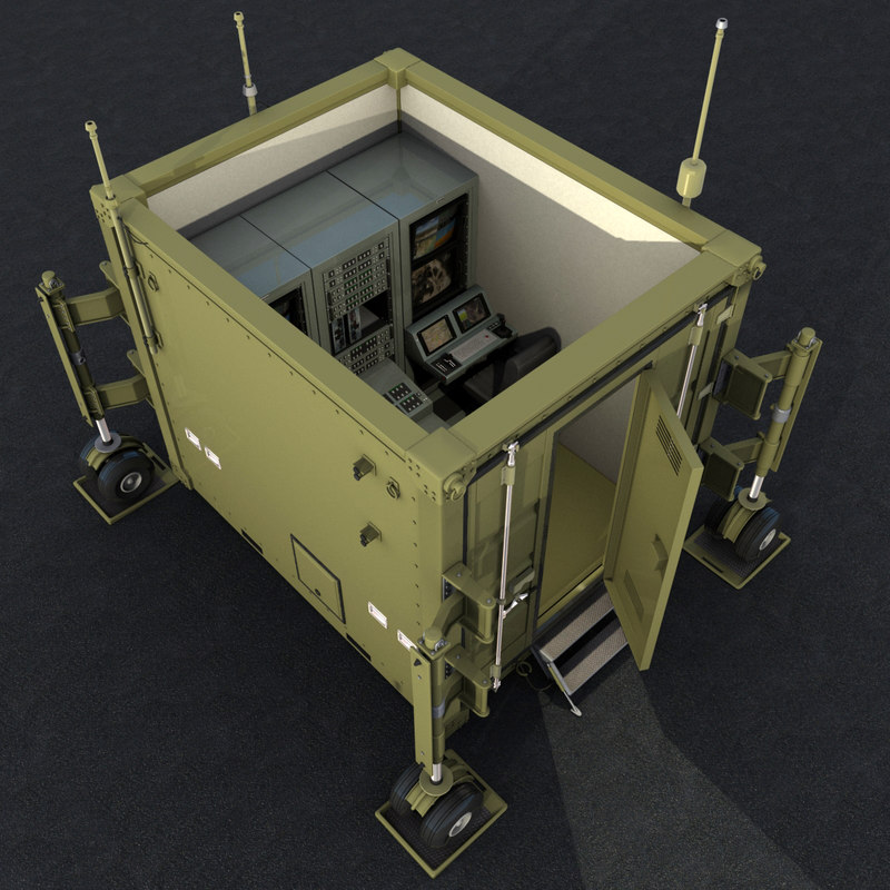 ground control station uavs 3D model