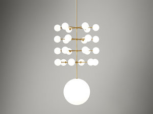 3D epic 3 pendant lamp model