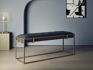 3D oxford bench