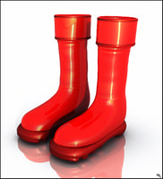 water boot 3D