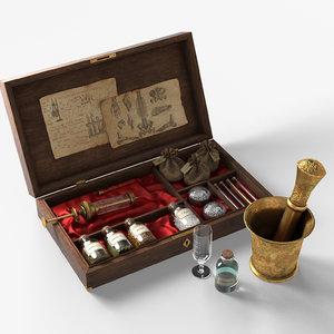 alchemist box 3D model