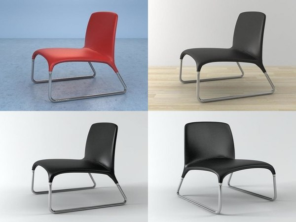 vela lounge chair model