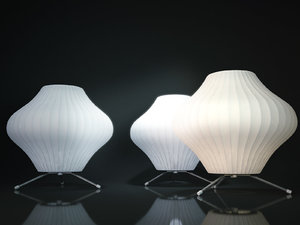 nelson bubble lamp - 3D model