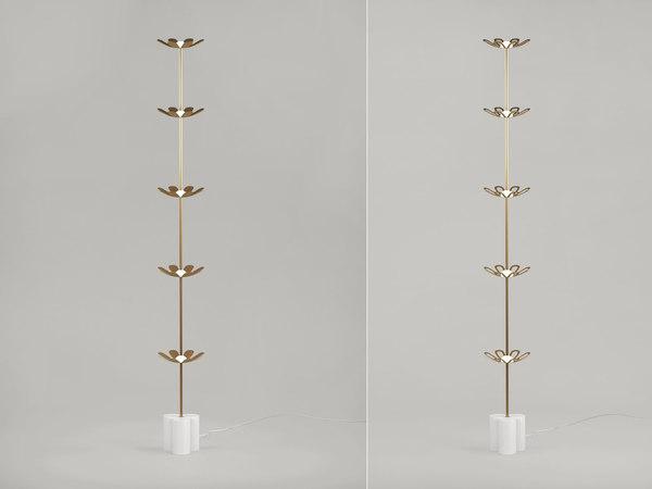 herbe floor lamp 3D model