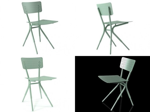 grasshopper chair 3D model