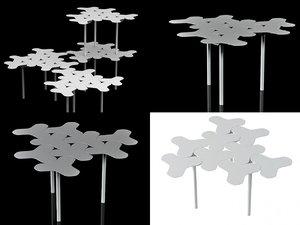 nanook table 3D model