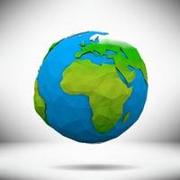 planet earth 3D model