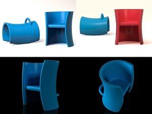 3D trioli magis model