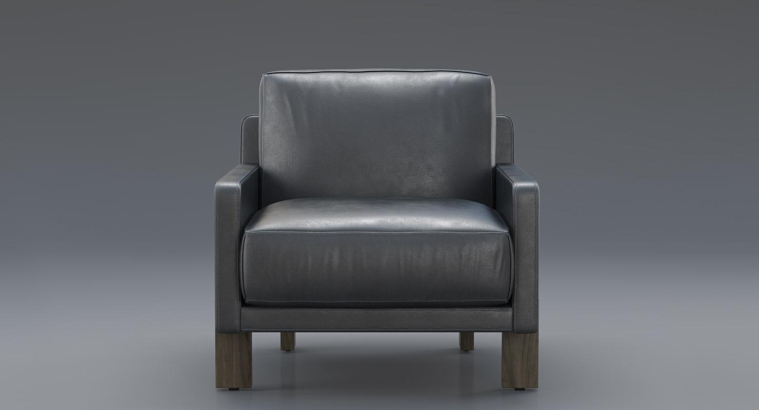 sede ds-77 armchair 3D model