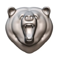 3D bear relief