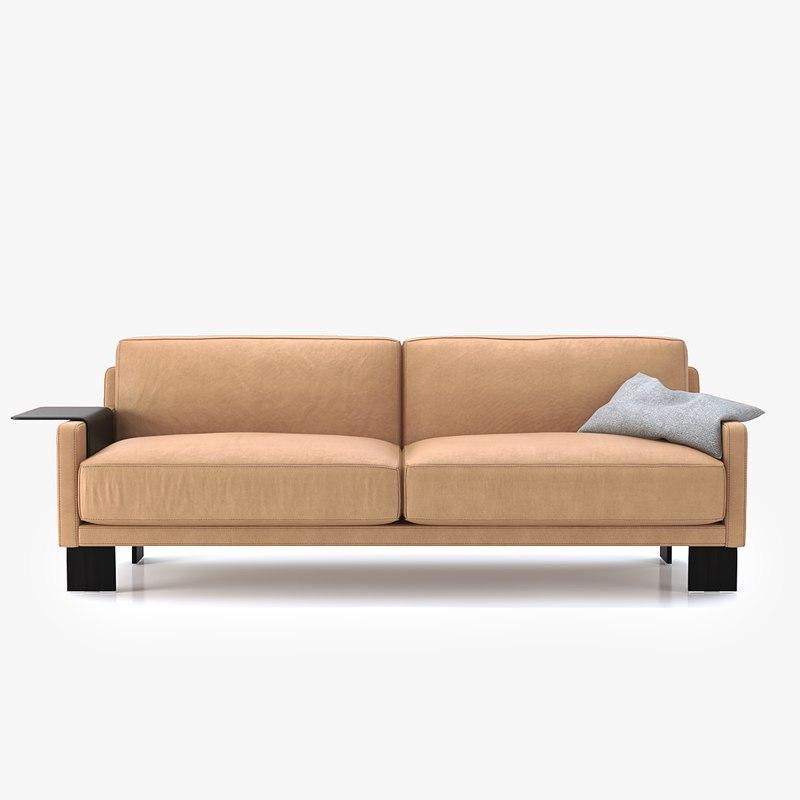sede ds-77 sofa 202 3D model