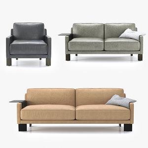 3D sede armchair sofa