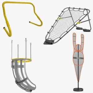 sklz basketball 3D model