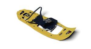 msr snowshoes 3D model