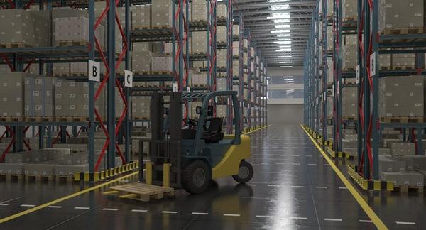 Warehouse Interior 3D Models for Download | TurboSquid