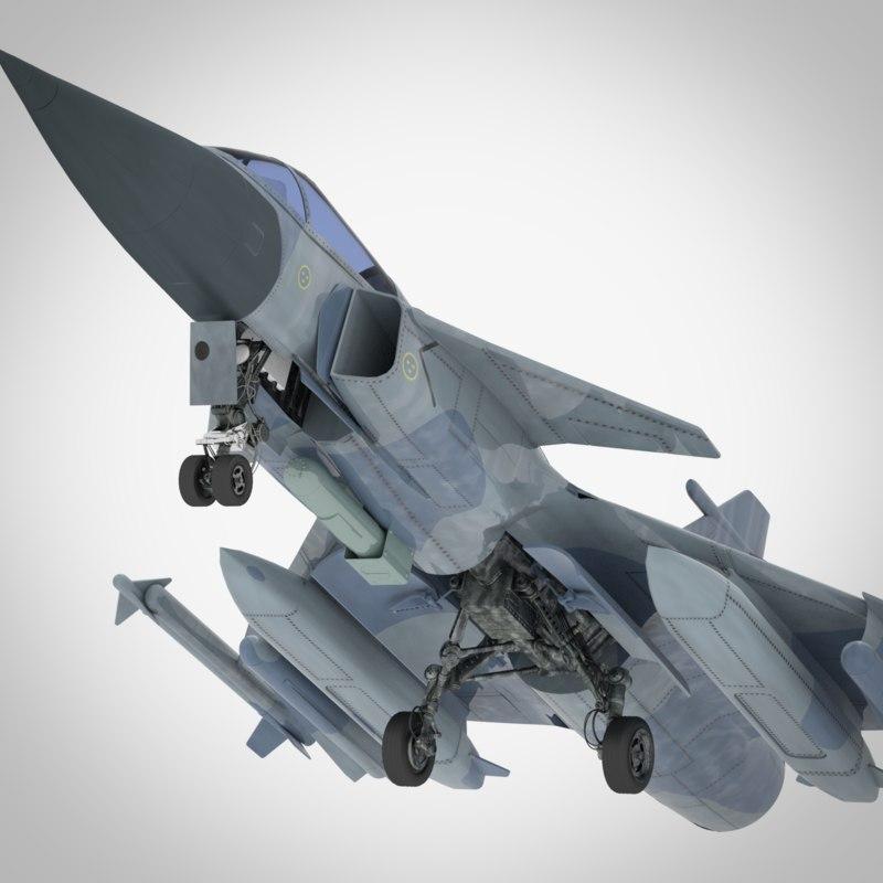 3D fighter sweden