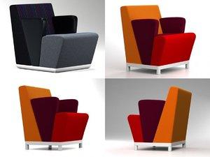 3D fellow easy chair