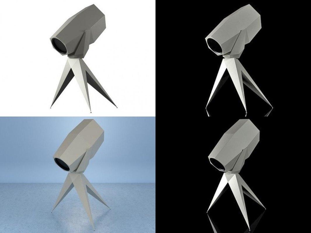 3D humble telescope