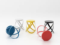 ribbon cappellini 3D model