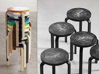 stool 60 3D model