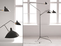 arm floor lamp 3D model