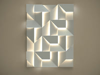 3D wall shadows grand model