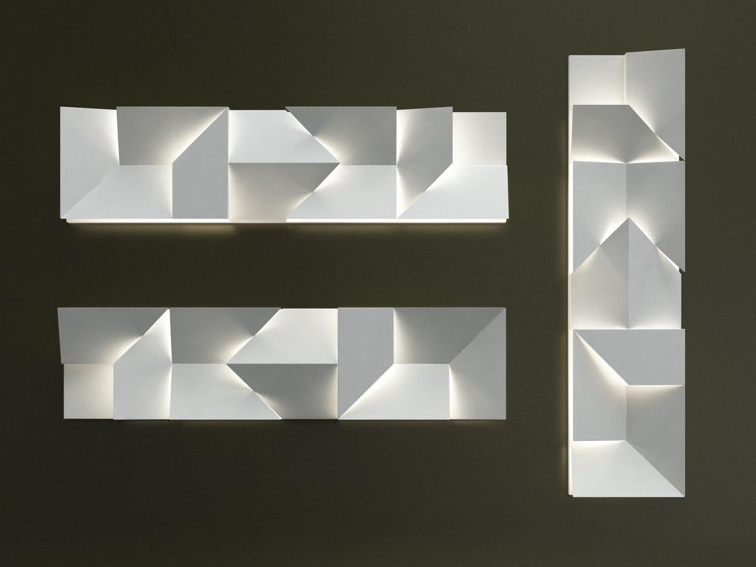 3D wall shadows long