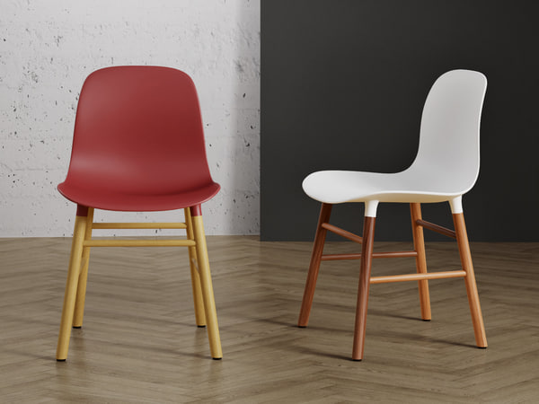 3D model form chair