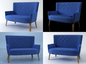 chair double 3D model