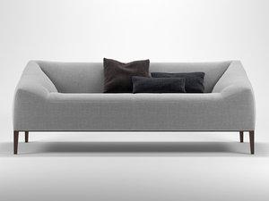 carmel sofa 3D
