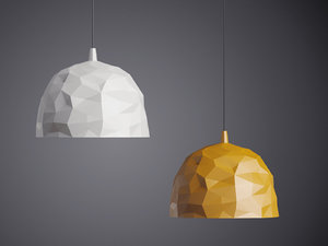 3D rock foscarini model