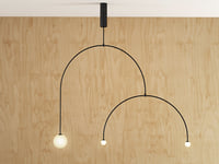 3D mobile chandelier 9 model