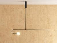 mobile chandelier 8 3D