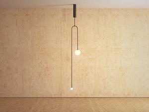 3D mobile chandelier 7