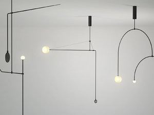3D model mobile chandelier 4