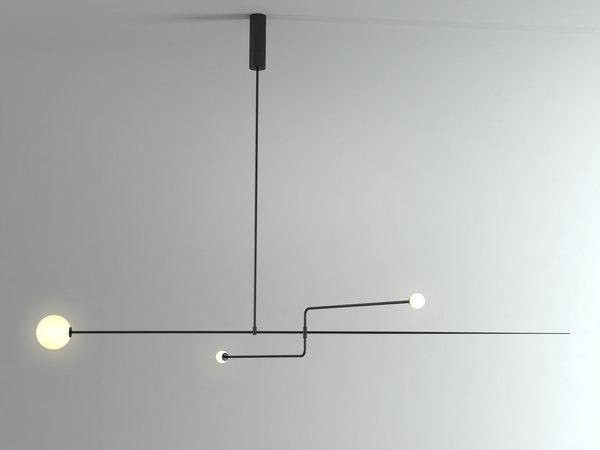 mobile chandelier 3 3D model