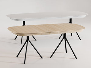 ottawa table 3D model