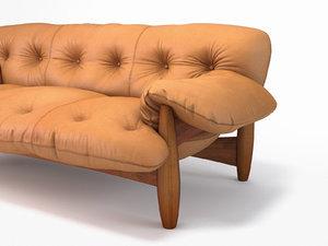 3D mole sofa 3 seat