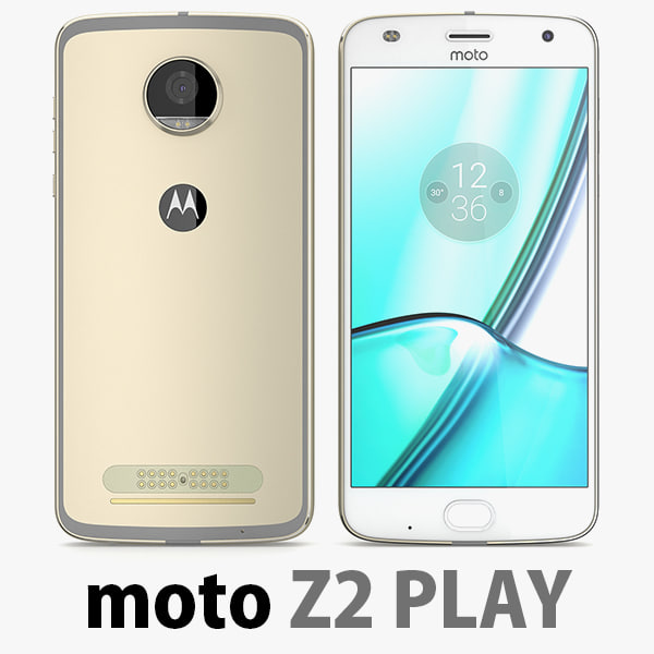 3D motorola moto z2 play model