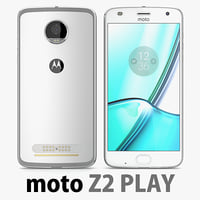 motorola moto z2 play 3D model