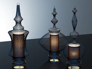 3D fil fer table