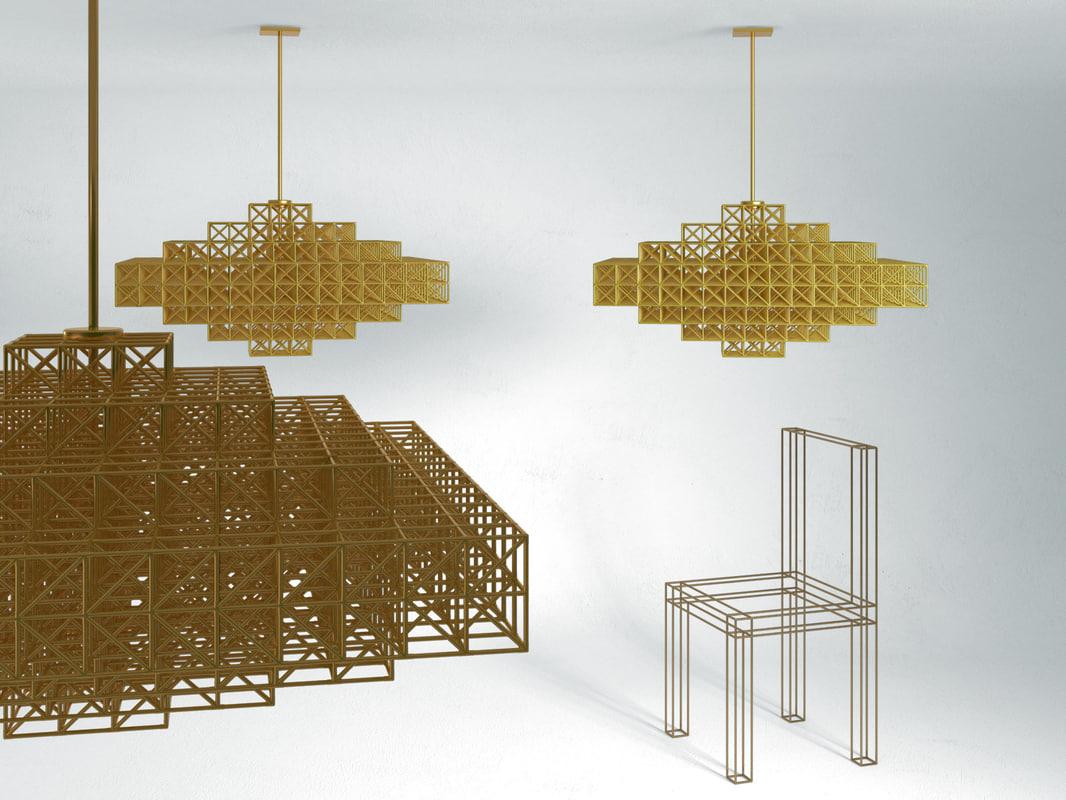 gridlock 4059 3D model