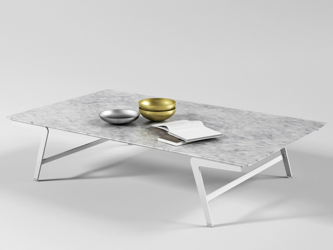 soffio coffee tables 3D model