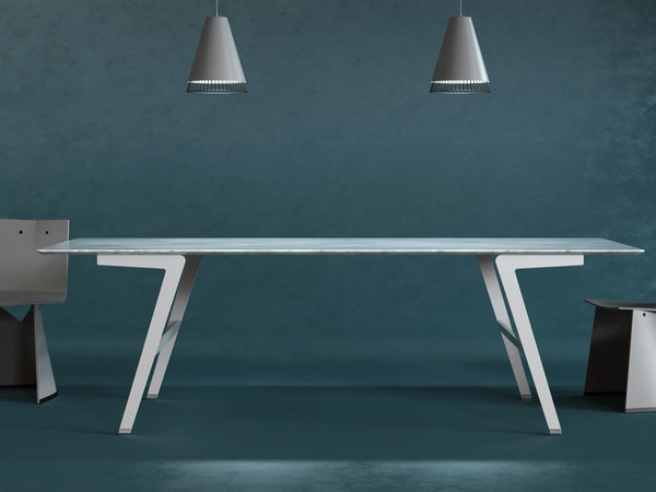 3D soffio dining tables model