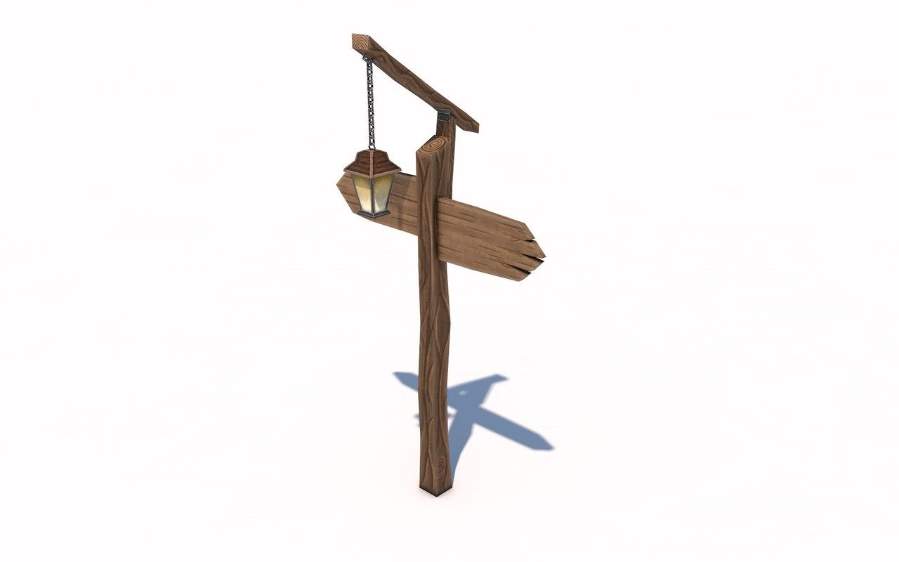 3D lamppost games