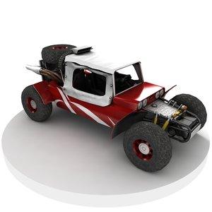 3D ready buggy model