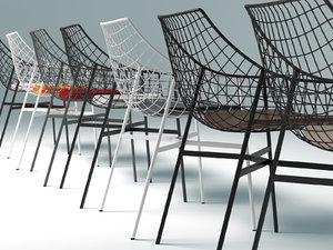 3D model summerset chair