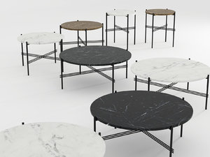 3D ts table model