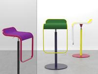 lem stool 3D model