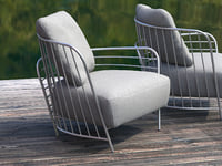 passio armchair 3D model